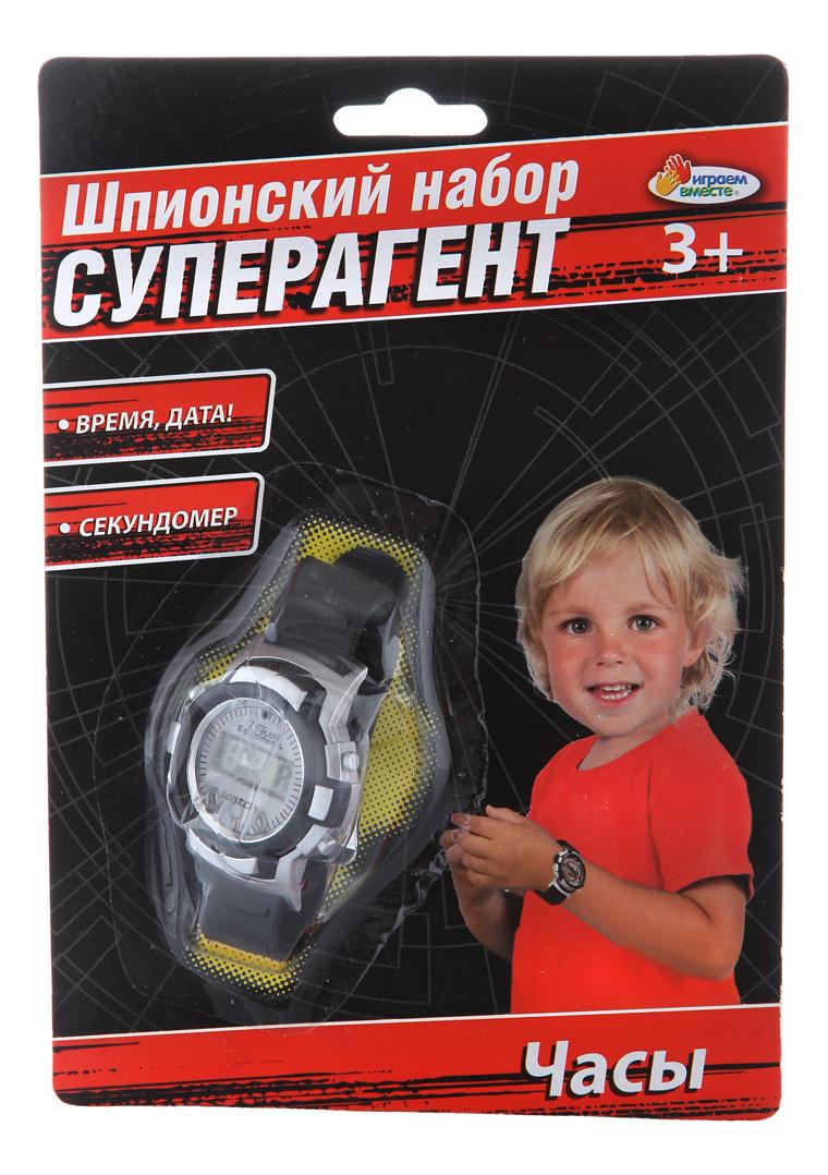 Шпионский набор Суперагент Часы Играем Вместе B866126