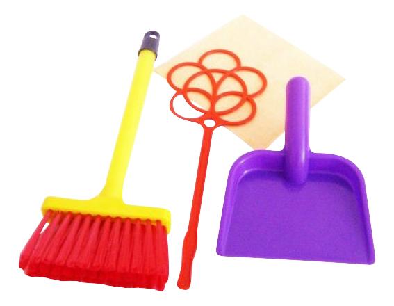 Купить Игровой набор Золушка 1 Совтехстром Р73496, Детские наборы для уборки