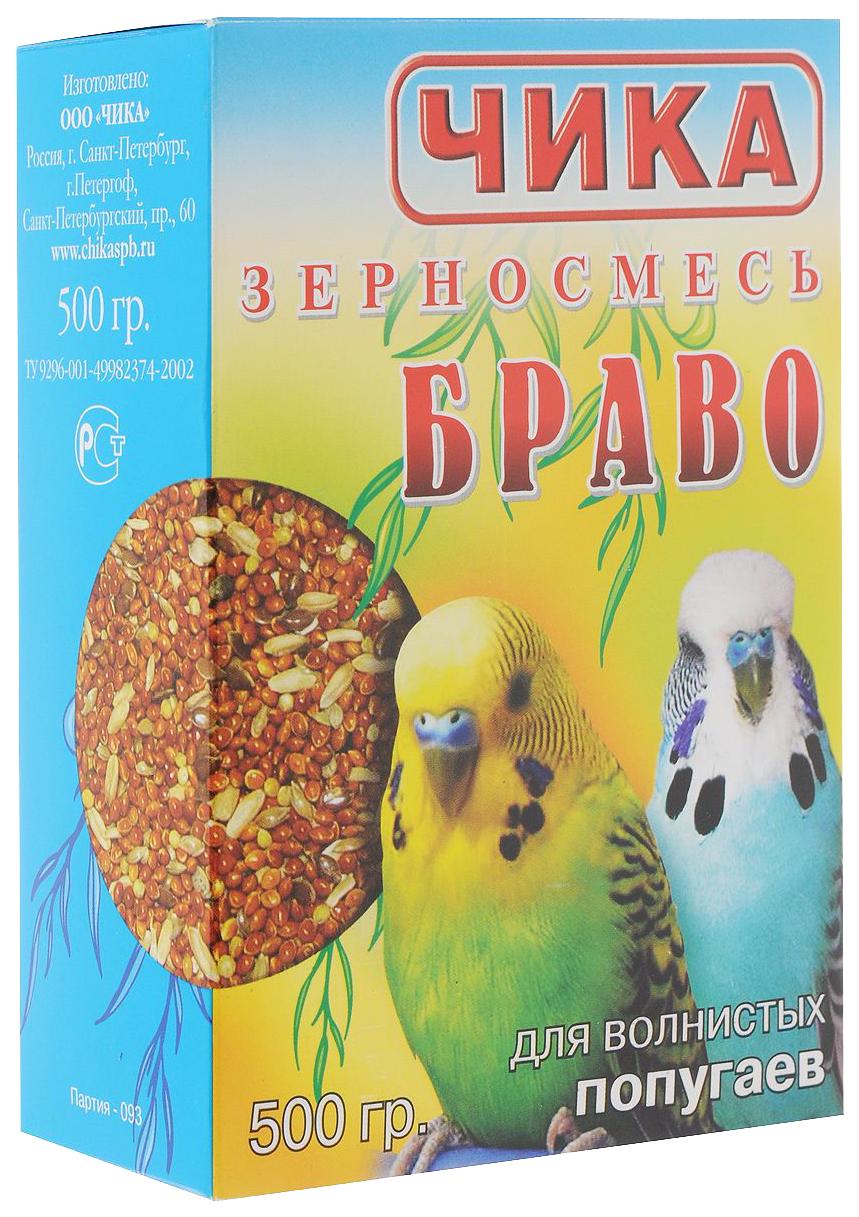 Основной корм Чика для попугаев 500 г 1 шт.