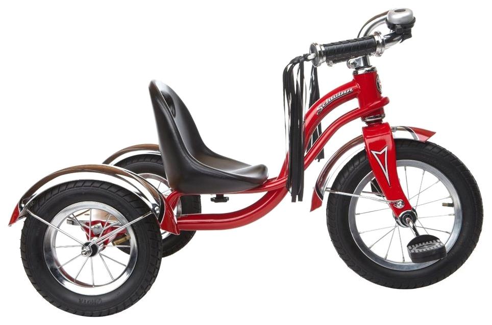 Купить Велосипед трехколесный Schwinn Roadster Trike 12 Красный S6760, Детские трехколесные велосипеды