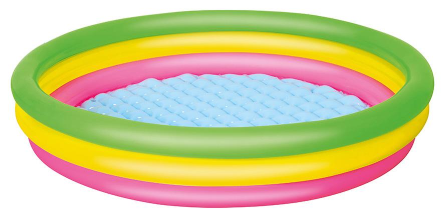Купить Бассейн надувной Bestway с надувным дном 51103 BW, Детские бассейны