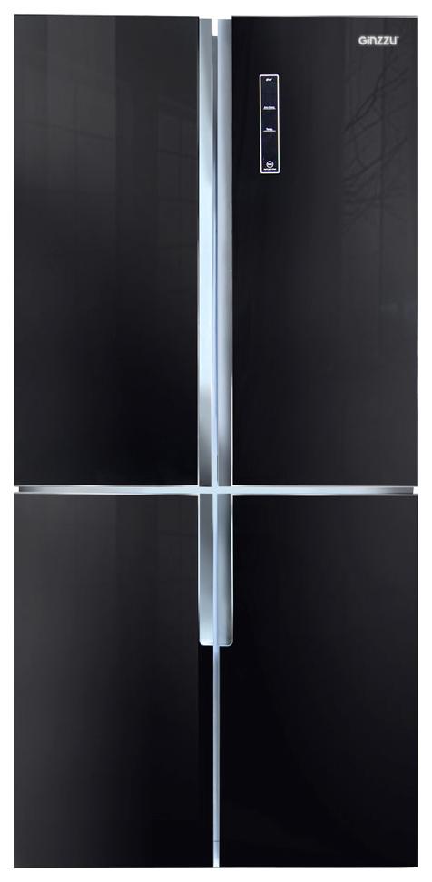Холодильник Ginzzu NFK 510 Black