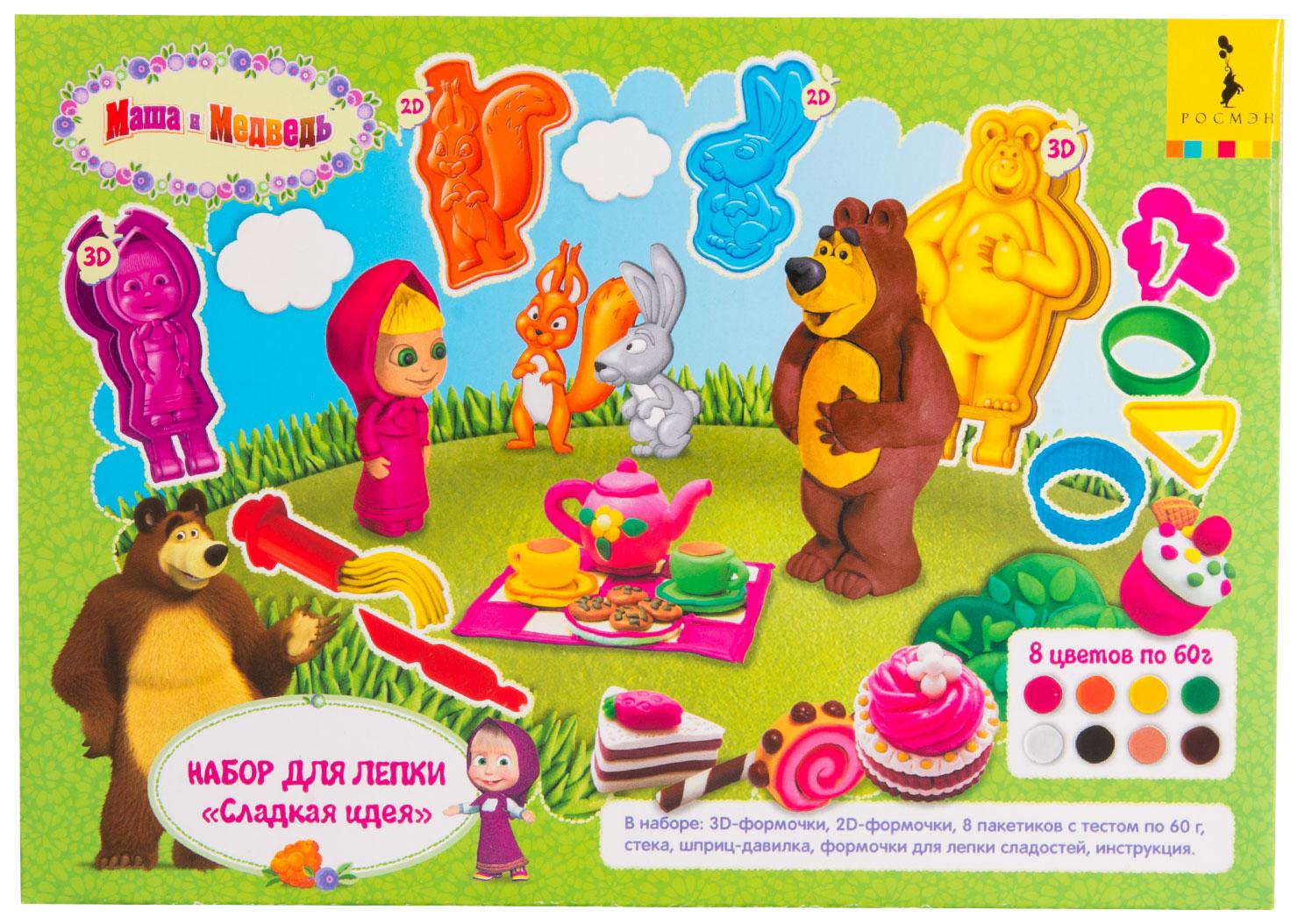 Игровой набор Росмэн Маша и Медведь Сладкая идея