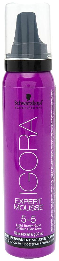Купить Мусс для волос Schwarzkopf Professional Светлый коричневый золотистый Expert Mousse