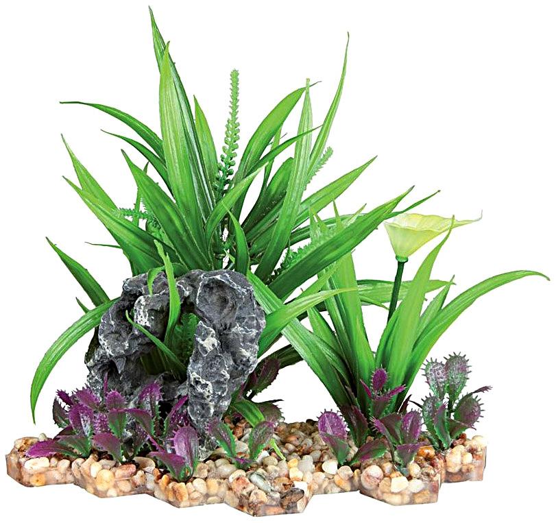 Растение для аквариума Trixie Plastic Plant 18см