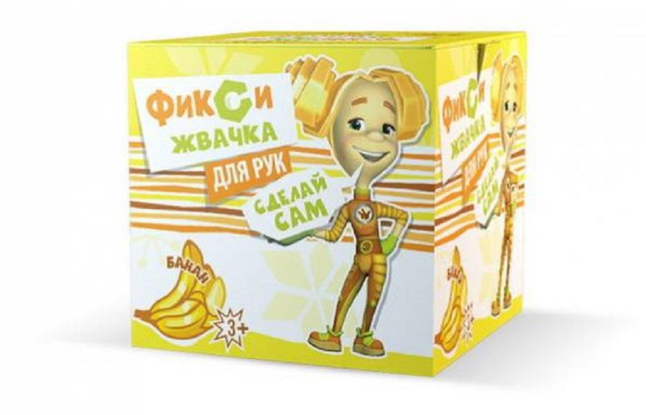 Набор для экспериментов, Фикси-опыты, Жвачка для рук Банан