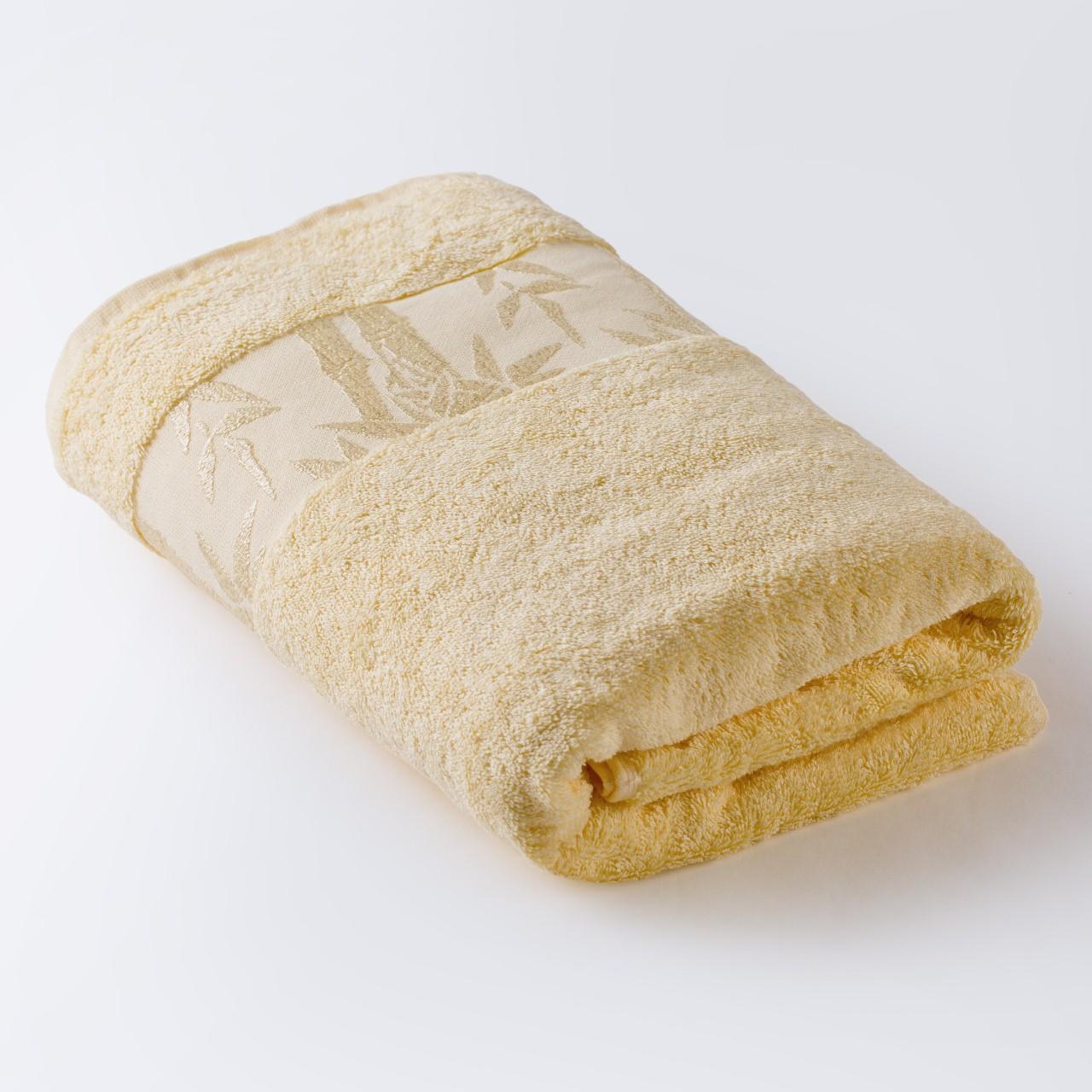 Полотенце Бамбук лимонный 67х130