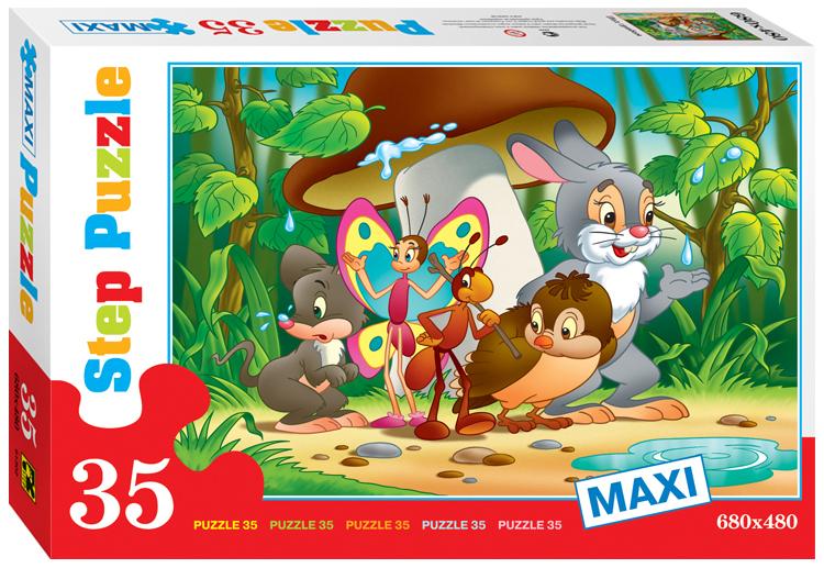 Купить Пазлы Step Puzzle Maxi Под грибом, 35 элементов
