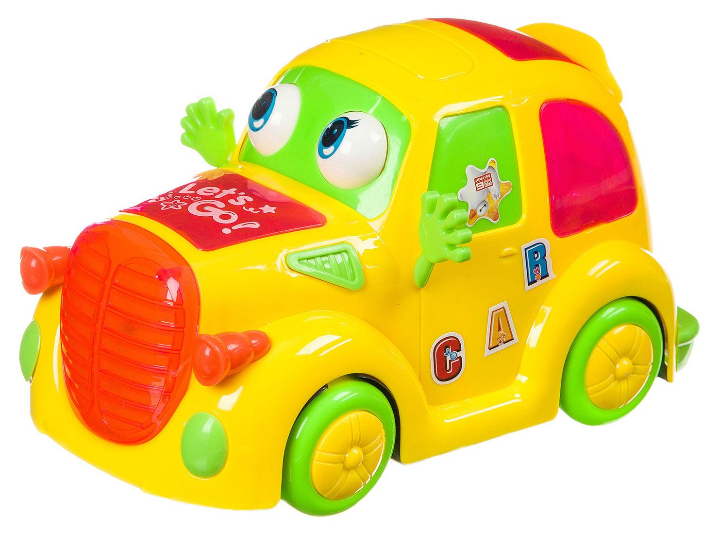 Купить Пласт. музык., светящ.3D машина на бат., ВОХ, арт.298-13., Shenzhen Toys, Игрушечные машинки