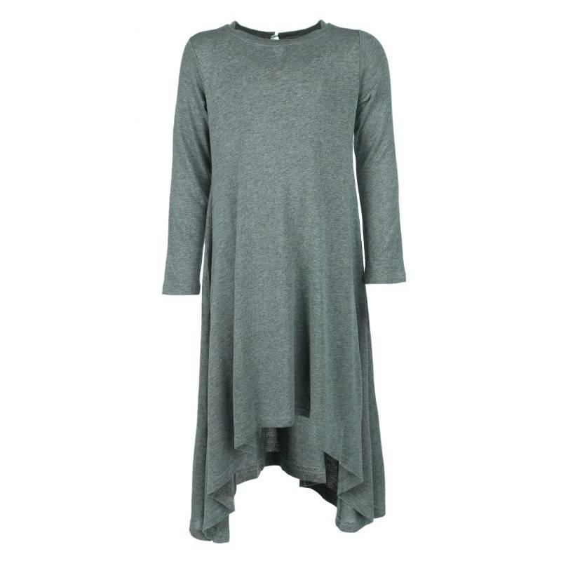 Купить 2004d, Платье UNONA GO, цв. серый, 134 р-р, Платья для девочек