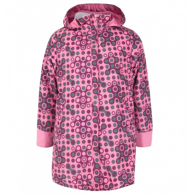 Купить Дд-0626, Плащ Горошина URSINDO, цв. розовый, 122 р-р, Дождевики и плащи для девочек