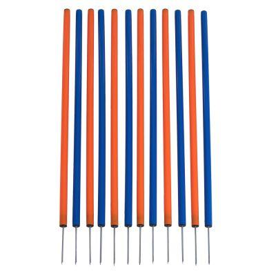 Слалом для аджилити TRIXIE Slalom пластик, 3.3х3.3х115