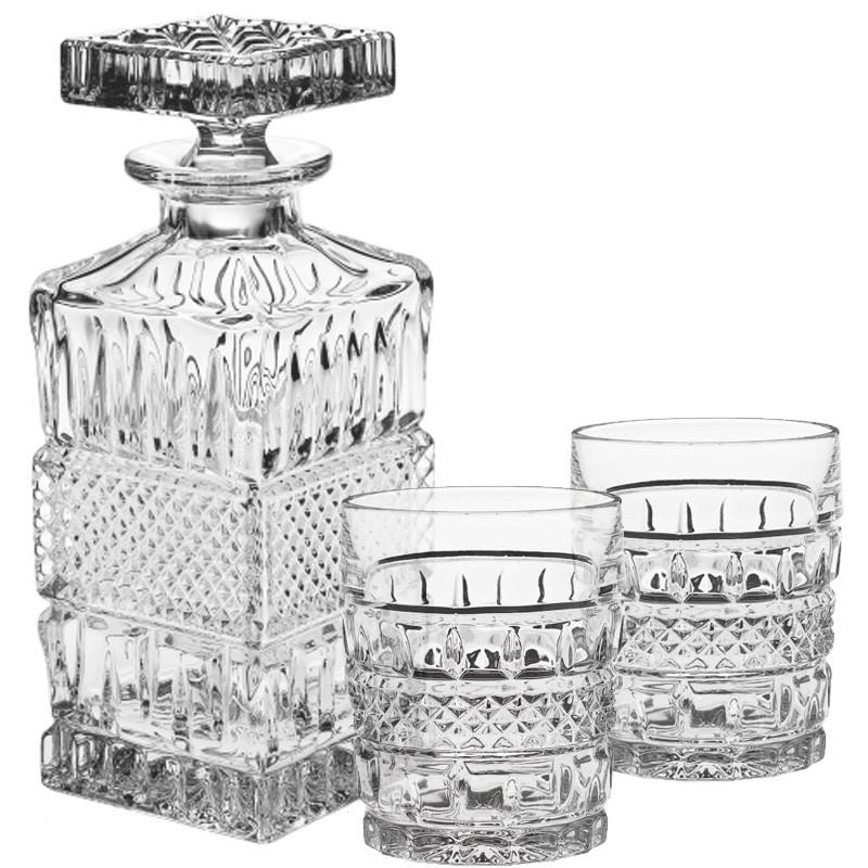 Набор для виски Crystal BOHEMIA 1 штоф