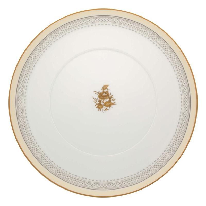 Тарелка обеденная 28,1см Vista Alegre HERITAGE, цвет белый, желтый