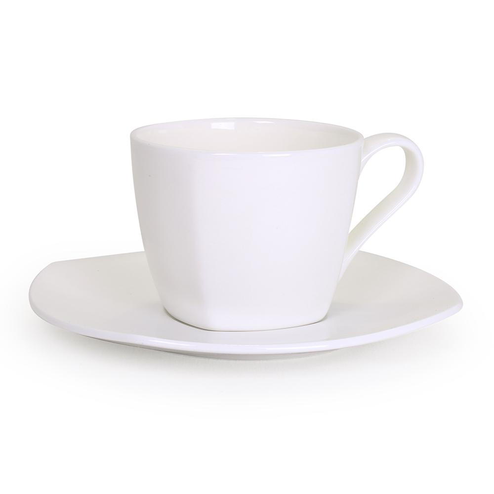 Чайная пара АККУ 250 мл костяной фарфор