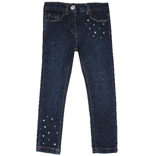 Купить 9008098, Джинсы Chicco для девочек р.116 цв.темно-синий,