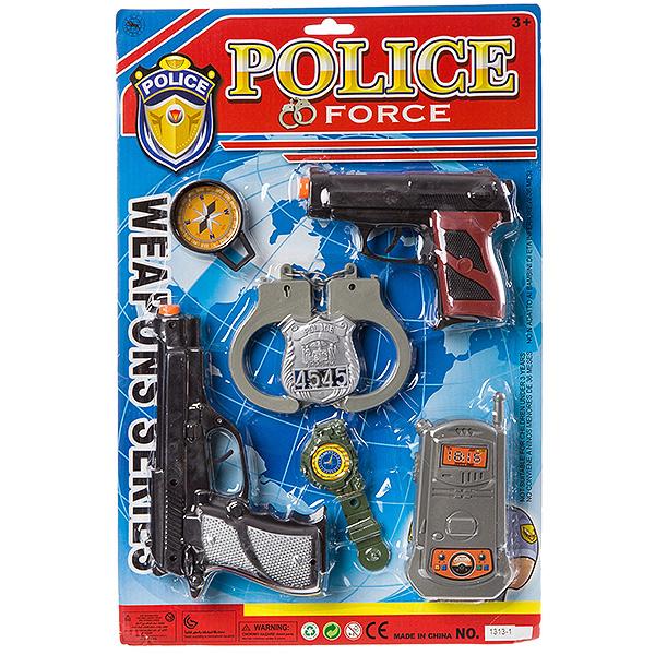 Купить Набор оружия полицейского, CRD, арт.1313-1., Yako Toys, Детские наборы полицейского