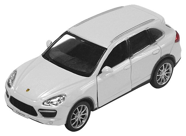 Купить Машинка Porsche Cayenne Turbo (белая), PIT STOP, Коллекционные модели