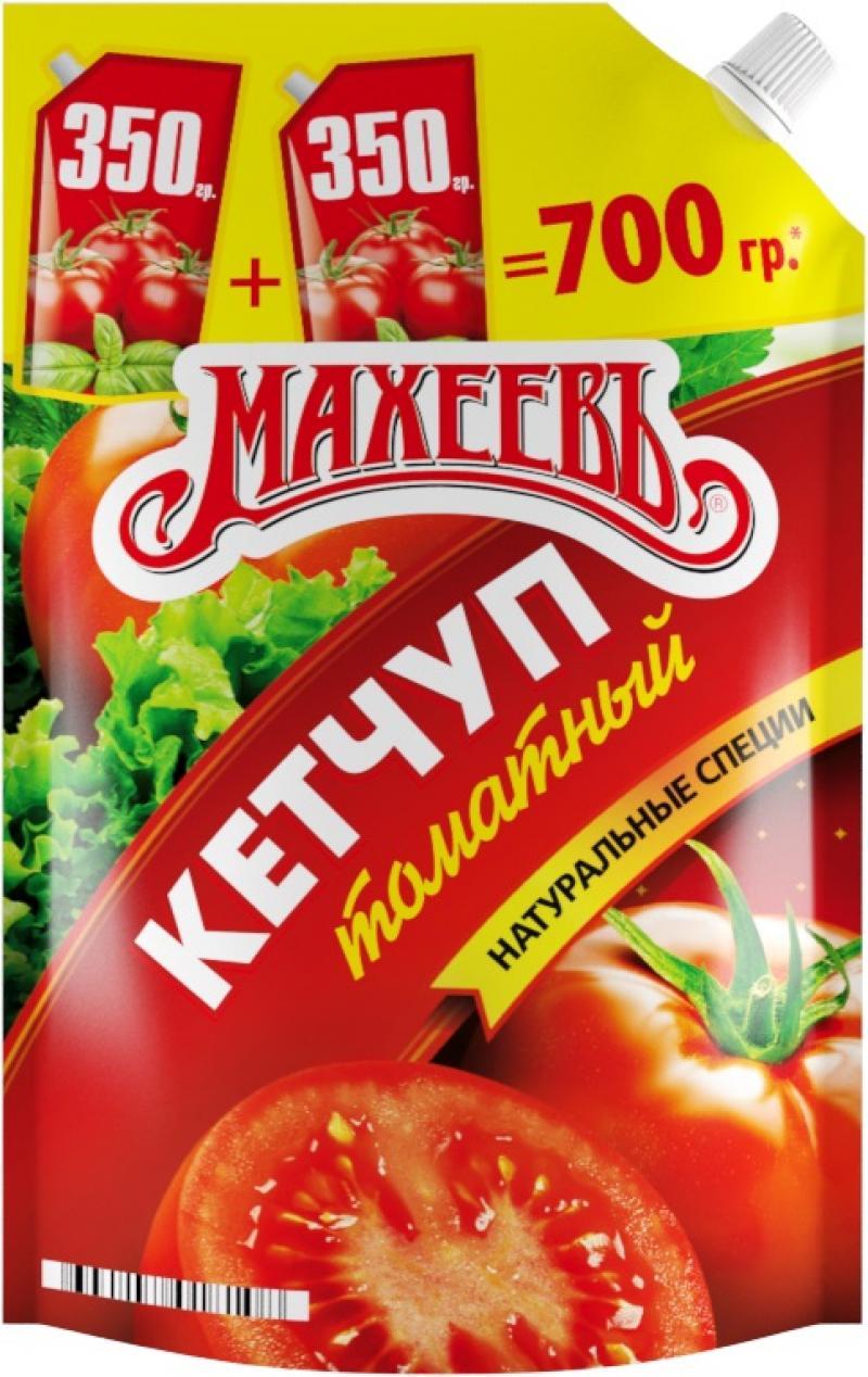 Кетчуп Махеевъ Томатный 700г фото