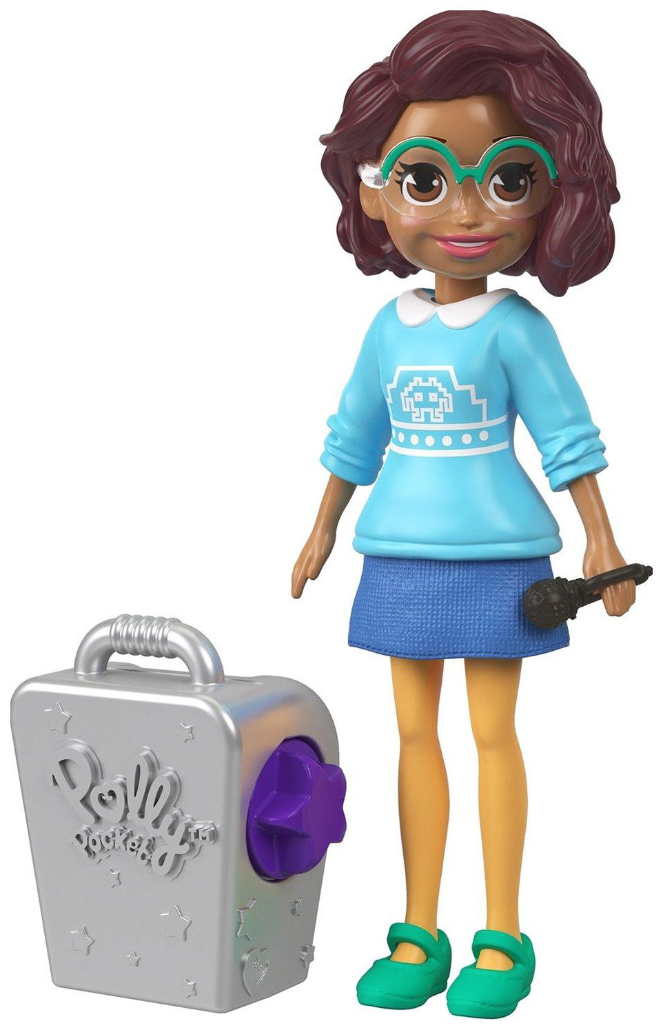 Кукла Polly Pocket Королева караоке Шани