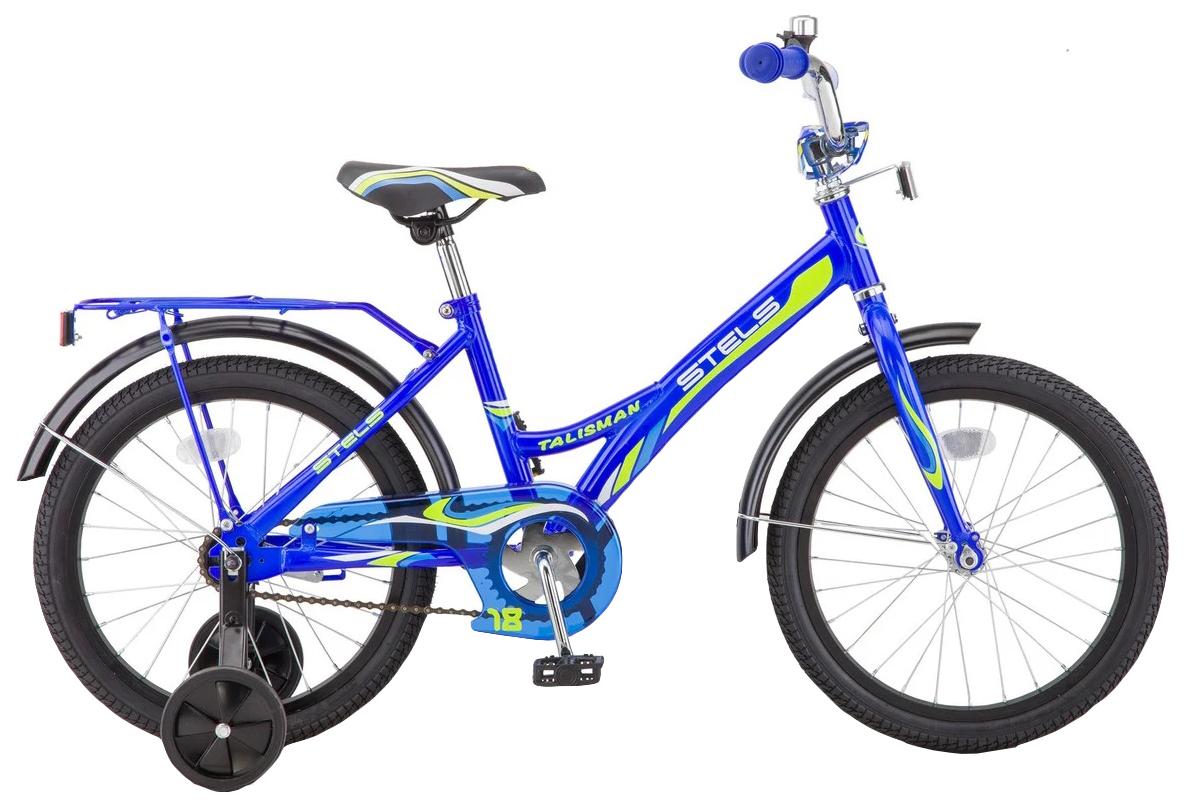 Велосипед детский двухколесный Stels Talisman 18 Синий