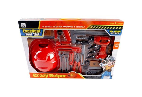 Набор игрушечных инструментов Crazy Helper B1521007
