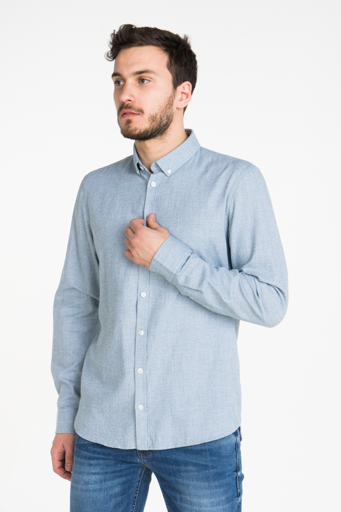 Рубашка мужская Casual friday 20502401 зеленая L