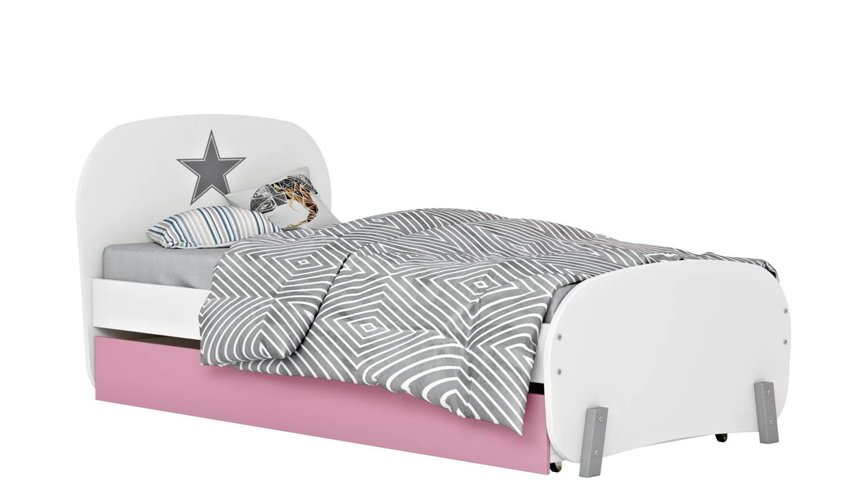 Кровать детская Polini kids Mirum 1915 c ящиком
