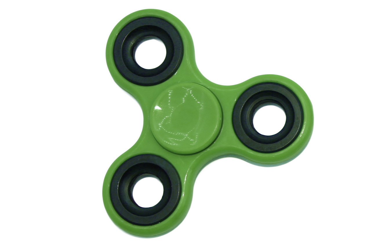 Купить Спиннер-антистресс Bradex зеленый,