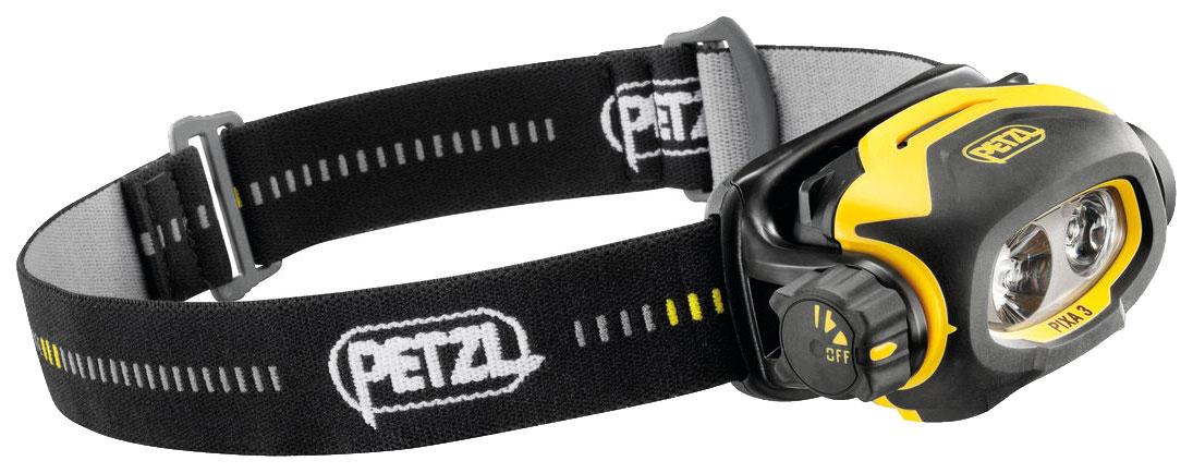 Туристический фонарь Petzl Pixa 3 E78CHB 2 желтый/черный, 3 режима