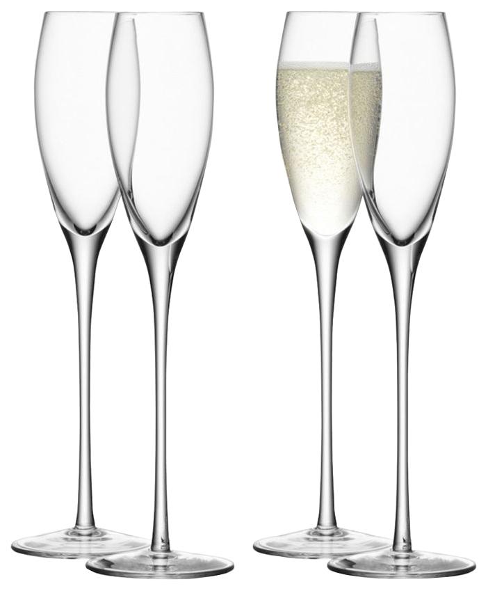 Набор бокалов LSA wine для шампанского, для коктейля 160 мл 4шт