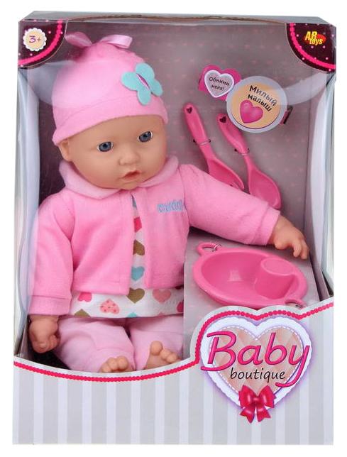 Кукла ABtoys Baby boutique 40 см с аксессуарами PT-00958