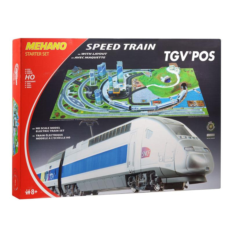 Железная дорога Mehano TGV POS с ландшафтом