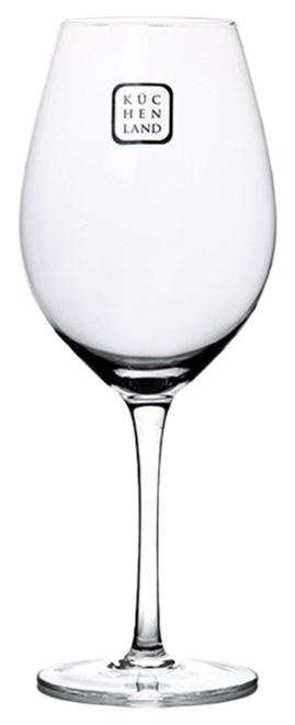 Набор бокалов для красного вина Kuchenland Florence 560 мл 6 шт