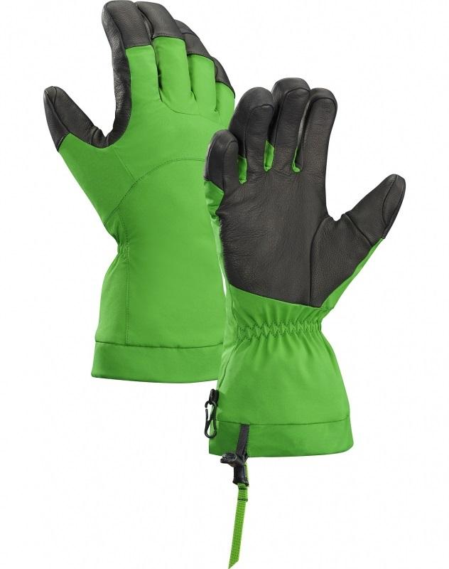 Перчатки Arcteryx Fission зеленые L