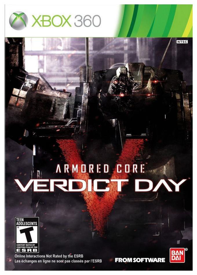 Игра Armored Core: Verdict Day для Xbox