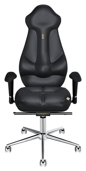 Кресло руководителя Kulik System Imperial, экокожа, Черный