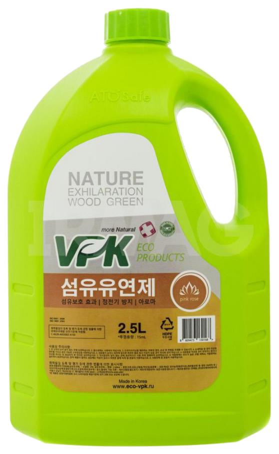 Кондиционер для белья VPK концентрированный с ароматом розы 2.5 л