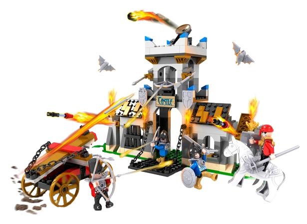 Конструктор пластиковый COGO Замок