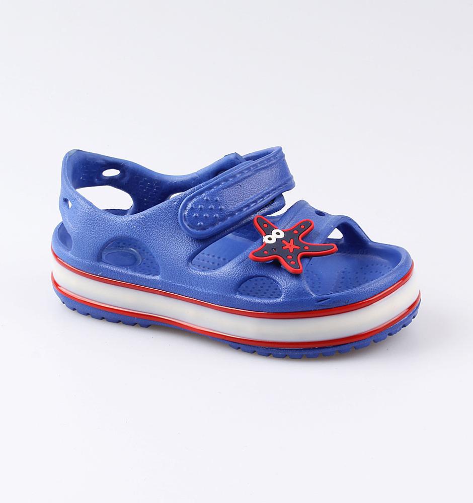 Купить Пляжная обувь Котофей 325077-03 для мальчиков р.25, Шлепанцы и сланцы детские