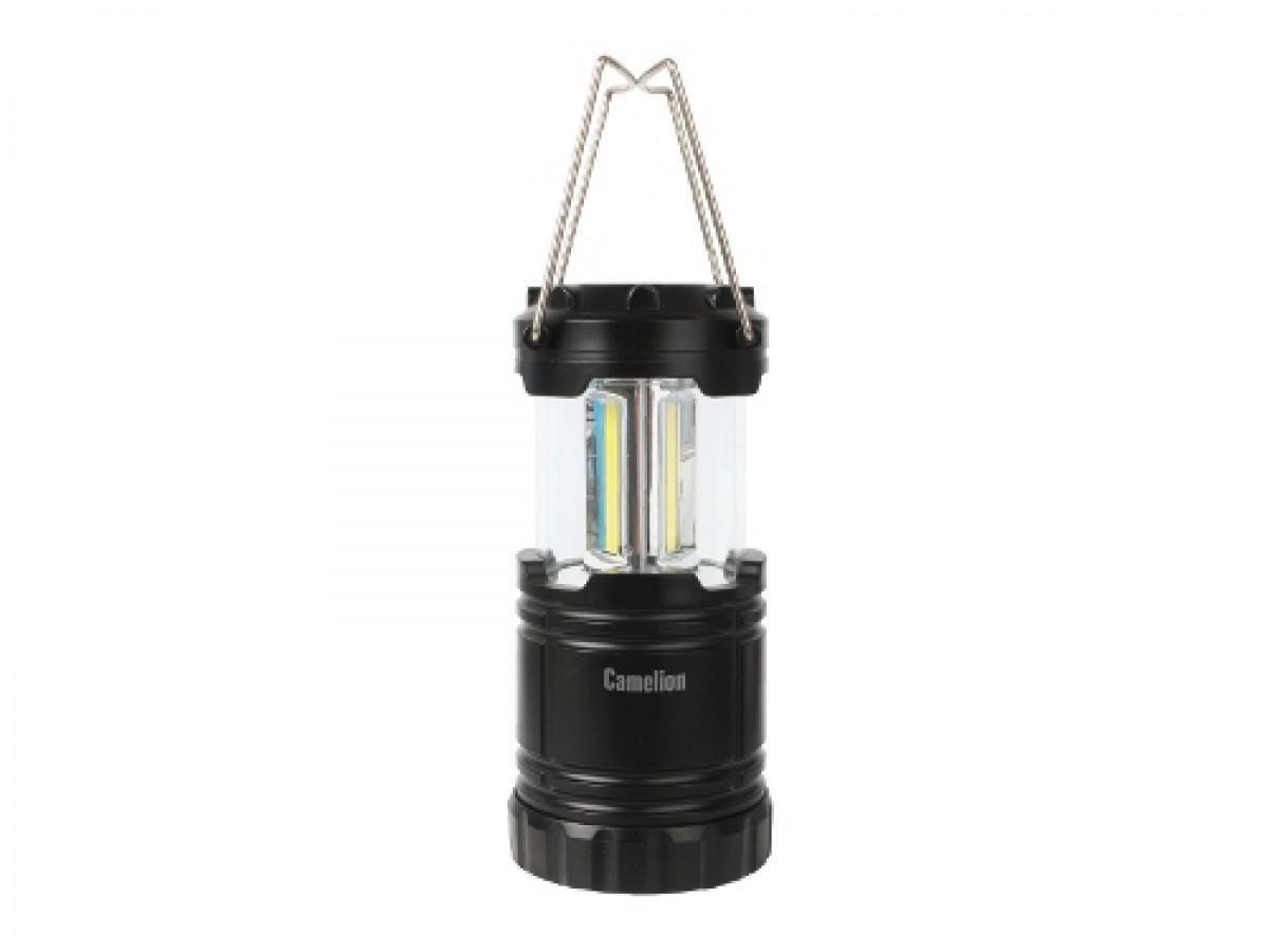 Туристический фонарь Camelion 5630 черный, 3 режима