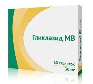 Купить Гликлазид МВ таблетки 30 мг 60 шт., Озон ООО
