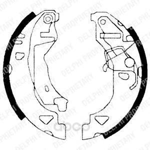 Тормозные колодки дисковые DELPHI LS1682 фото