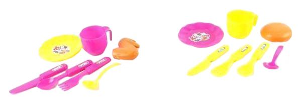Купить Игровой набор Shantou Gepai посуды для чаепития 7 предметов B1413851, Игровые наборы