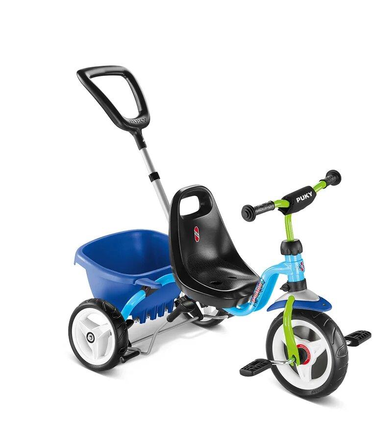 Купить Трехколесный велосипед Puky CAT 1S голубой, Велосипед трехколесный Puky CAT 1S голубой, Детские велосипеды-коляски
