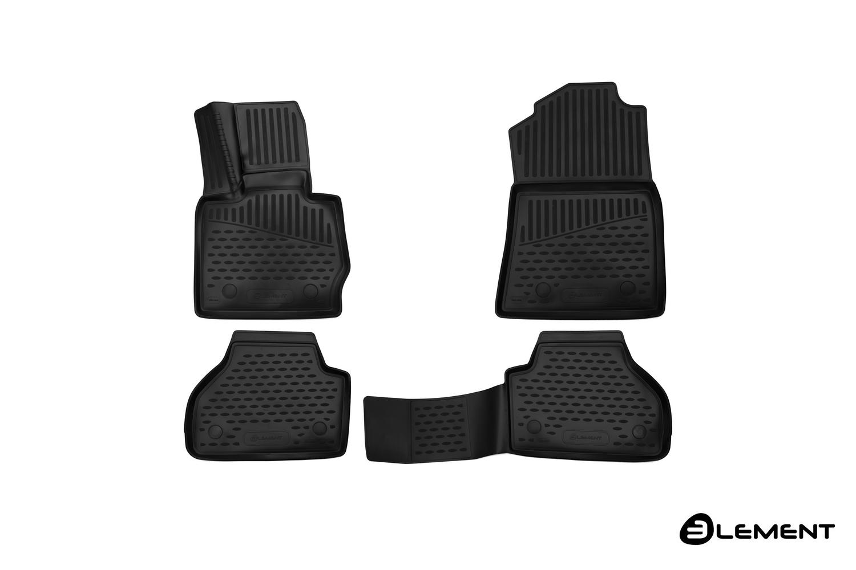 Коврики в салон Element для BMW X4, 2014-2017, 4 шт. полиуретан