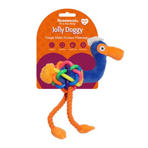 Игрушка пищалка для собак Rosewood Jolly Doggy