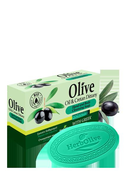 Оливковое мыло Herbolive с диктамосом (критская душица)