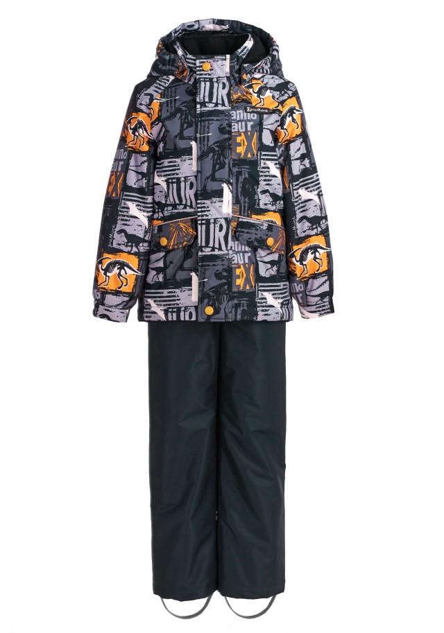 Купить Sp92201 black, Комплект демисезонный: куртка и брюки Premont SP92201 черный р.134, Комплекты верхней одежды для мальчиков