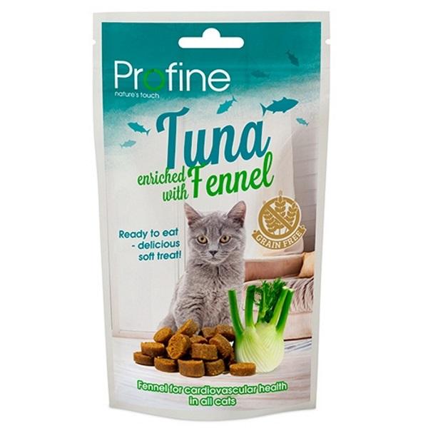 Лакомство для кошек PROFINE беззерновое с тунцом